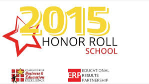 California Honor Roll School 2015